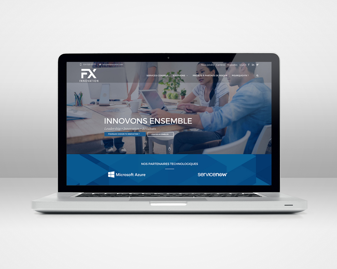 Site web FX INNOVATION